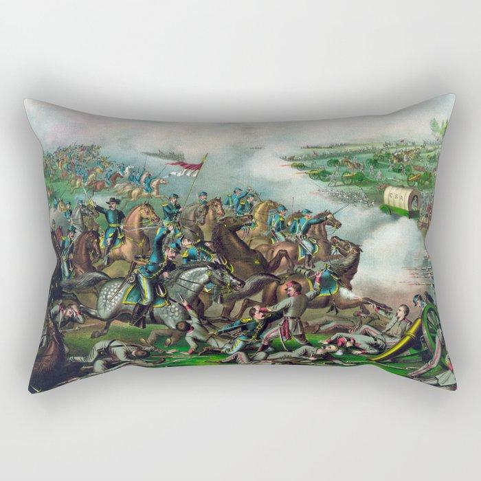 Civil War -- Battle of Five Forks Rectangular Pillow