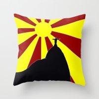 rio Throw Pillows featuring RIO by Andreas Campos
