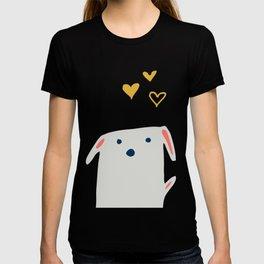 Cute sweet Dog Yellow T-shirt