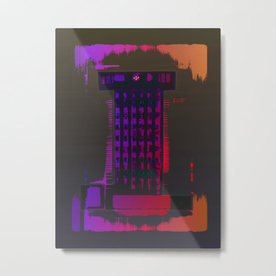 TOWER / ROOK Metal Print