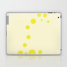 color field - yellow Laptop & iPad Skin