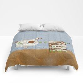 Brown Blah Comforters