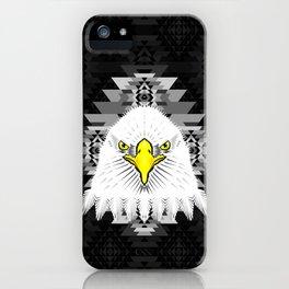 Geometric Eagle iPhone Case