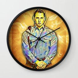 Officer Bennett Wall Clock