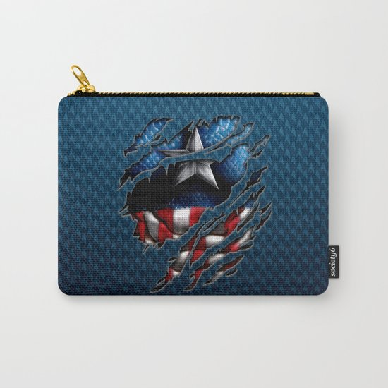 vintage classic Captain steve iPhone 4 4s 5 5c 6, pillow case, mugs and tshirt Carry-All Pouch