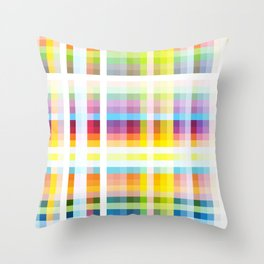 Myling - Colorful Decorative Abstract Art Stripes Pattern Throw Pillow