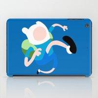 finn iPad Cases featuring Finn by Polvo