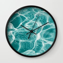 Deep with Bright Wall Clock