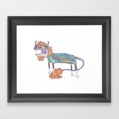 Flight Suit Framed Art Print