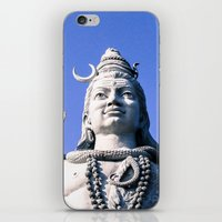 shiva iPhone & iPod Skins featuring Shiva by Gabriel Fox