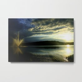 Stormfront at the Waterfront Metal Print