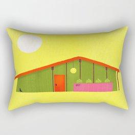 Architecture Series: MidCentury Modern Rectangular Pillow