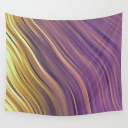 stripes wave pattern 1 lsp Wall Tapestry