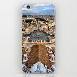 High Above The Vatican - Basilica di San Pietro iPhone Skin