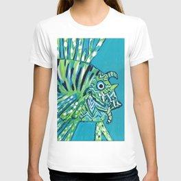 Lion Fish 1, a pretty predator T-shirt
