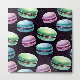 Glam Macarons Metal Print