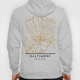 BALTIMORE MARYLAND CITY STREET MAP ART Hoody