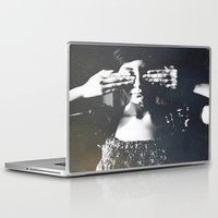 letters Laptop & iPad Skins featuring Letters by Deniz Kantürk