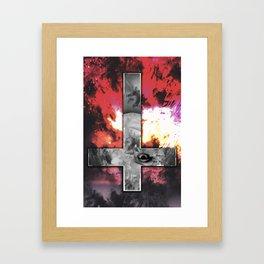 Victory Cross Framed Art Print
