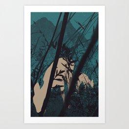 Valley Forage Art Print