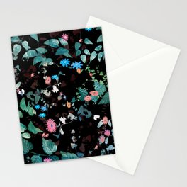 Great Nature Explosion at Night Stationery Cards