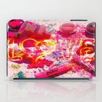 makeup iPad Cases featuring MakeUp Crush by LuxuryLivingNYC