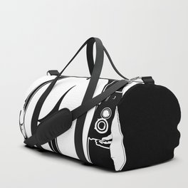 Girl with camera Duffle Bag