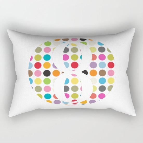 tee shirt 8 Rectangular Pillow