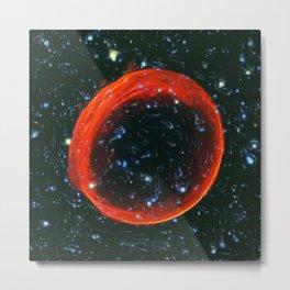 Remnant of a Supernova Metal Print