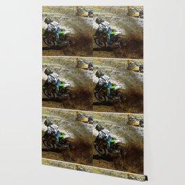 Round the Bend - Dirt-Bike Racing Wallpaper