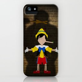 Shadow Collection, Series 2 - Puppet iPhone Case
