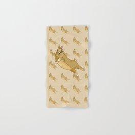 Butterscotch Binkie - Patterned+Main Hand & Bath Towel