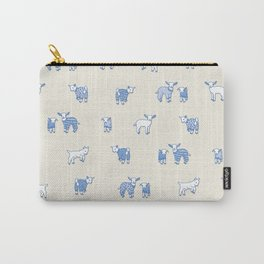 Goat Pajama Party Carry-All Pouch