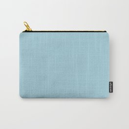 Lovely Roses ~ Light Blue Carry-All Pouch