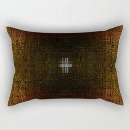 Behind the science Rectangular Pillow