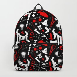 Dirty Boys Pattern Backpack