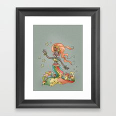 Lady from Rio Framed Art Print