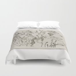 The Greyhound & The Moth Duvet Cover