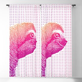 Cute Sloth Blackout Curtain