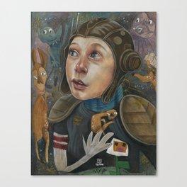 IMAGINARY ASTRONAUT Canvas Print