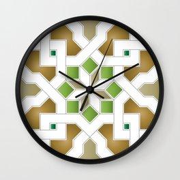 Oriental Pattern - Geometric Design Pt. 8 Wall Clock