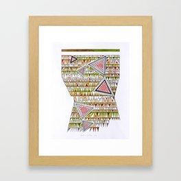 Tetris n. 7 Framed Art Print