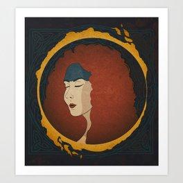 Boudicca Art Print