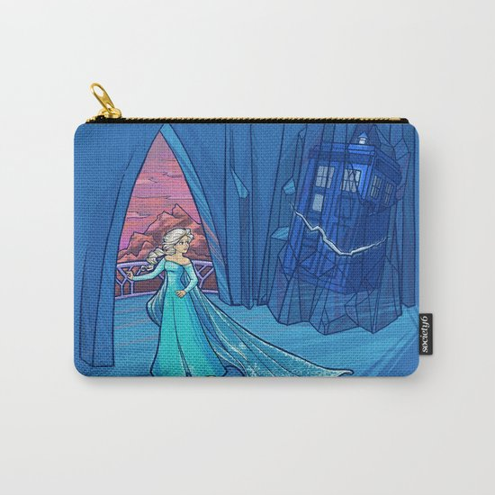 Frozen in Time and Space Carry-All Pouch