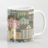 urban Mugs featuring Urban by Julia Badeeva