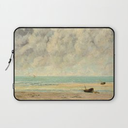 The Calm Sea - Gustave Courbet Laptop Sleeve