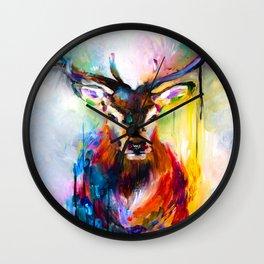 Heart Deer Wall Clock