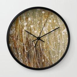floral abstrakt Wall Clock