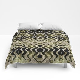 Tribal Gold Glam Comforters