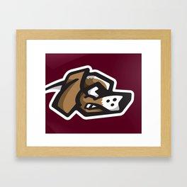 Scrappy Beagles Logo Framed Art Print